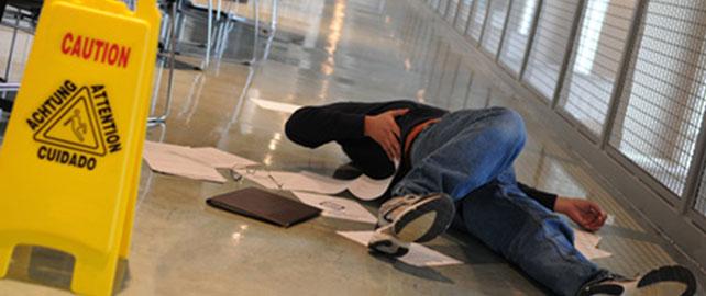 La chute de plain pied : définition et caractéristiques -