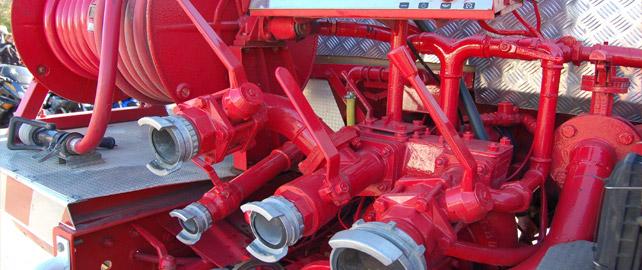 matériel de lutte contre les incendies
