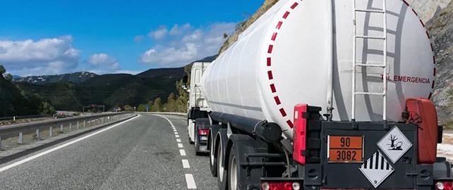 Sécurité routière : transport de matières dangereuses