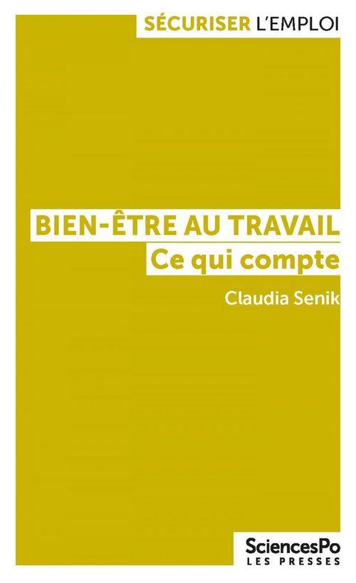 Le bien-être au travail - Olivier Bachelard