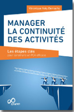 Manager la continuité des activités - Véronique Naly Demachy