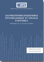 Les prestations d'assistance psychologique et sociale à distance – Référentiel et guide d'achat