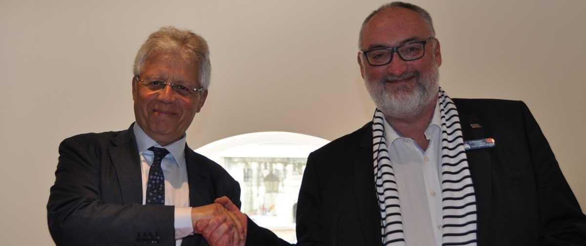 signature partenariat loxam-capeb