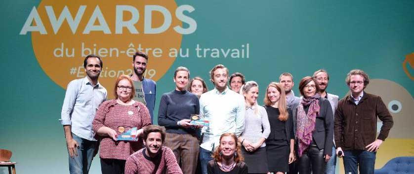 Quatre entreprises distinguées par les Awards du bien-être au travail