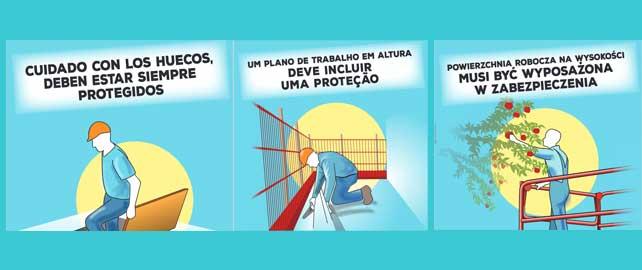Accidents du travail : une campagne de sensibilisation disponible en plusieurs langues
