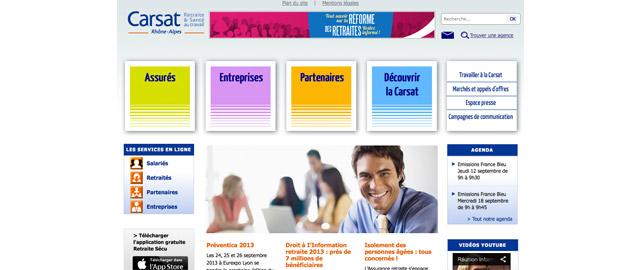 Un Nouveau Site Internet Lance Par La Carsat Rhone Alpes Sante Au