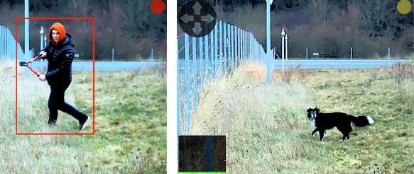 detecteur mouvements videosurveillance