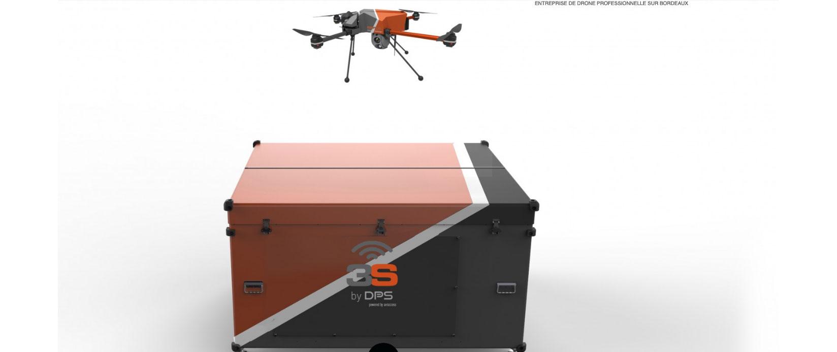 drone automatique de surveillance