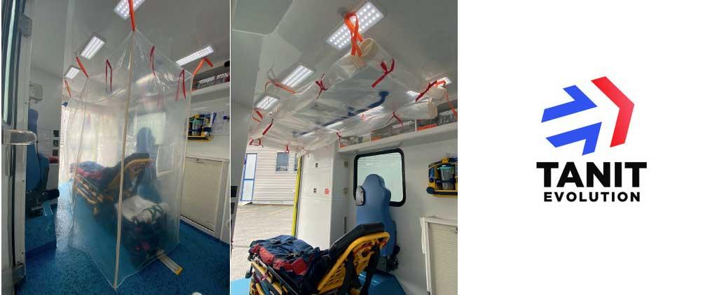 Un spécialiste des matériels de secours met au point une housse de confinement innovante pour le transport des malades