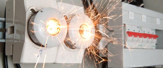 Incendie électrique