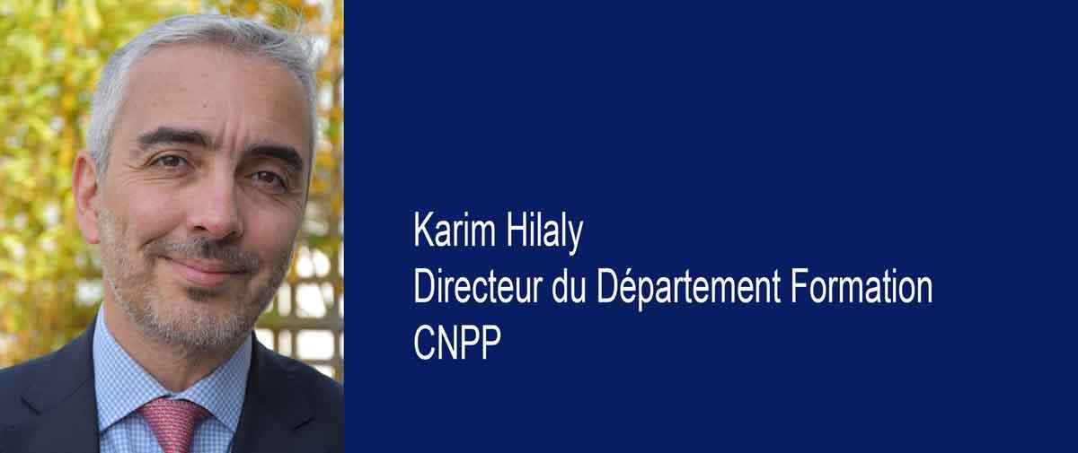 Karim Hilaly est le nouveau directeur formation de CNPP