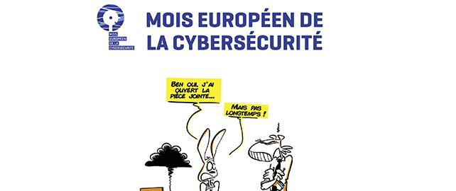 Le mois d'octobre est placé sous le signe de la cybersécurité en Europe
