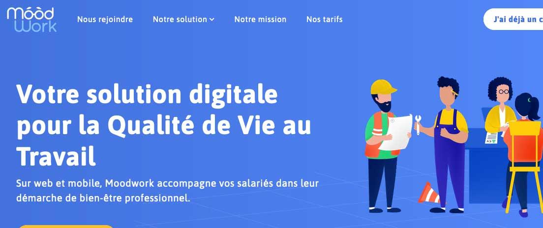 Qualité de vie au travail : la start up Moodwork lève 2 millons d'euros