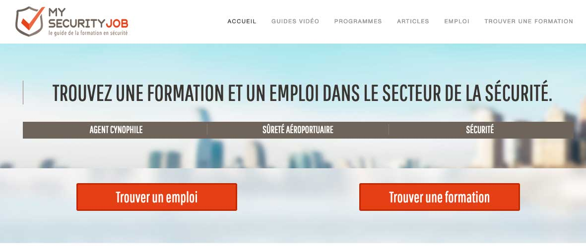plateforme formation securite