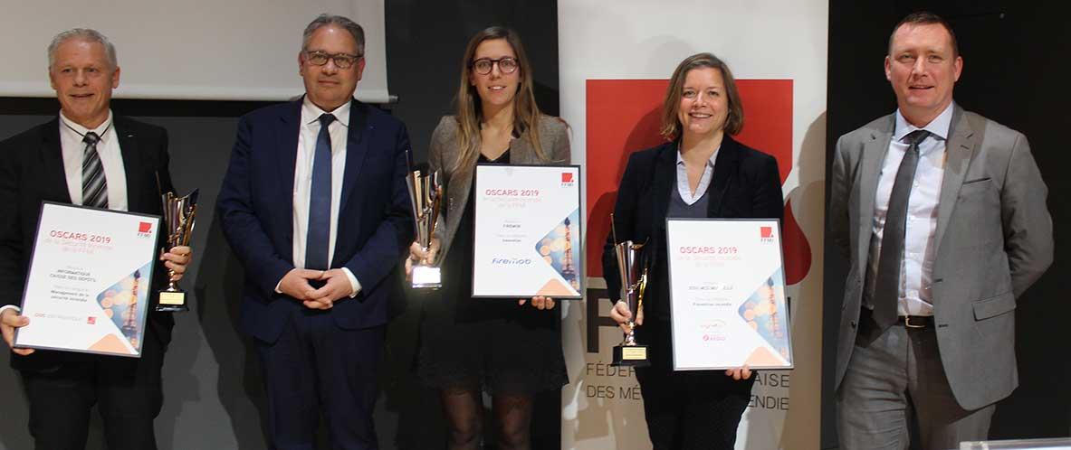 Trois entreprises récompensées aux Oscars de la FFMI 2019