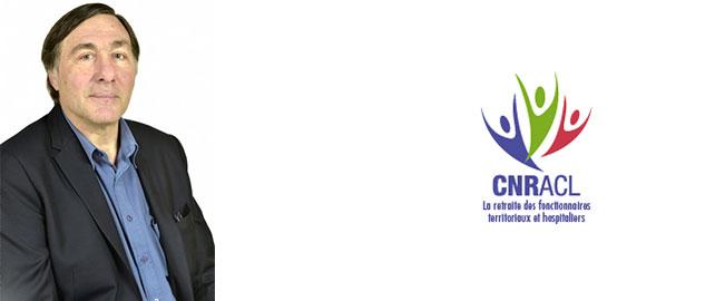 Richard Tourisseau vient d'être élu président du conseil d'administration de la CNRACL
