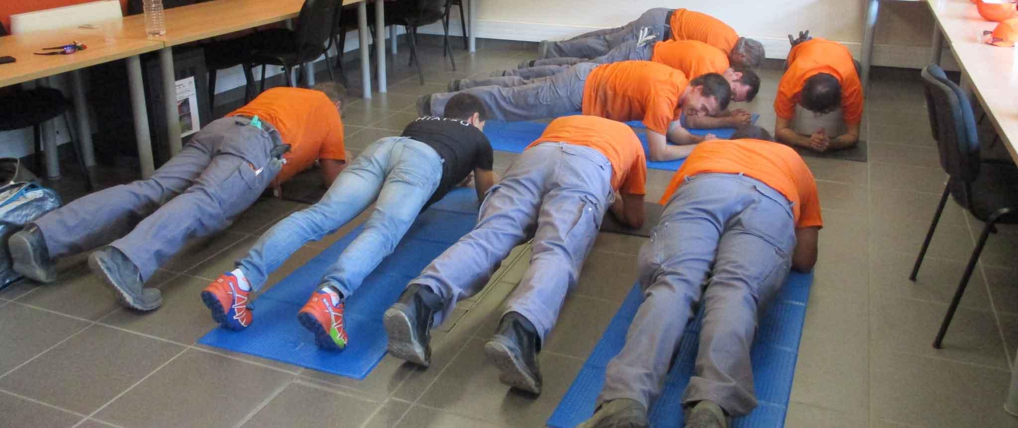 exercices réveil musculaire
