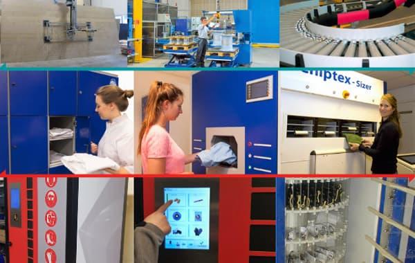 Manutention, levage et distribution automatique