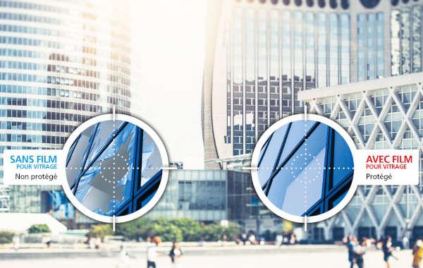 Films de Protection et de Sécurité pour vitrage ULTRA S800 de 3M™ - Fournis posés
