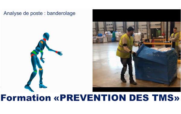 Formation Prévention des TMS - Industrie, Plateforme Logistique