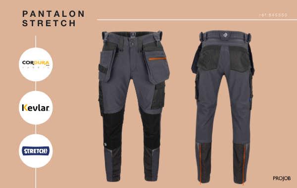 Pantalon stretch - KEVLAR - CORDURA