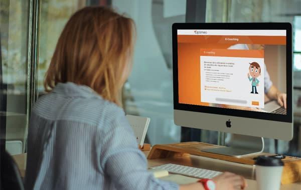 Module e-coaching de prévention des risques liés au travail sur écran Opti-Coach