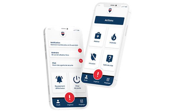 Outil SaaS + mobile de gestion numérique des procédures opérationnelles de sûreté-sécurité