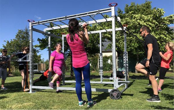 Box Fit - équipement sport en entreprise et collectivités