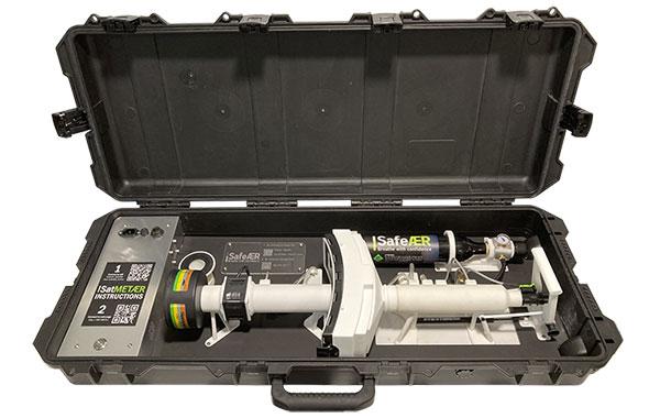 Appareil de mesure portable pour filtres et cartouches anti-gaz (ABEK) – SatMETӔR