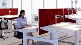 Ergoblic : un bureau dont le plan de travail incliné à 3° génère une posture apaisée