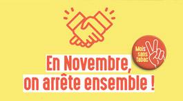 Mois sans tabac : en novembre, on arrête ensemble !