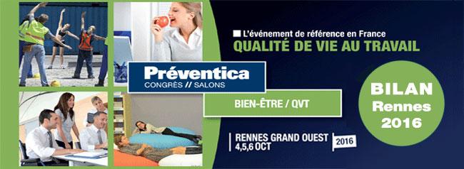Bilan salon bien tre pr ventica for Salon bien etre rennes