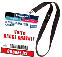 Badge visiteur