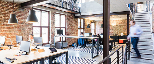 Aménagement des espaces de travail