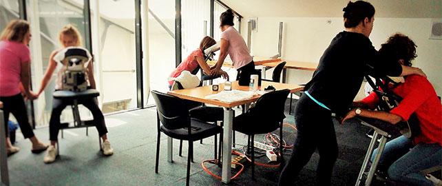 Testez le massage assis lors de Préventica Lyon