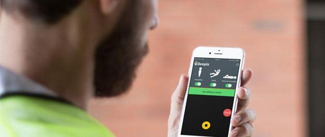 Un fil d'alerte interactif pour les travailleurs isolés