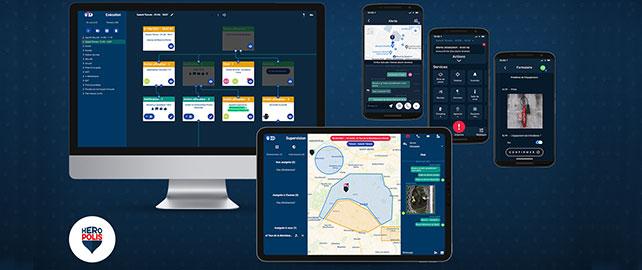Heropolis, la gestion numérique de vos procédures opérationnelles de sûreté-sécurité