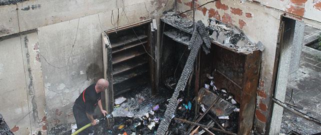 Agir dès le début d'un incendie et éviter le pire financièrement