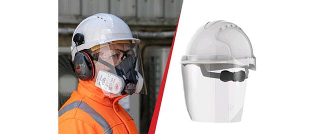 Mesures sanitaires : équipez vos casques d'écran anti éclaboussures