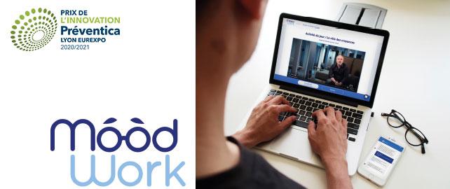 La solution digitale Moodwork accompagne vos salariés dans leurs démarches QVT