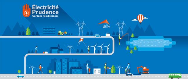 La MSA sensibilise au risque électrique