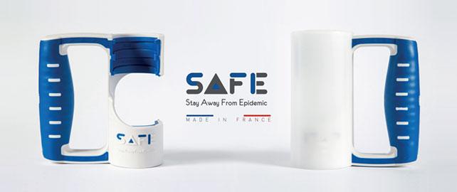 SAFE, la poignée pour prendre les transports en toute sécurité