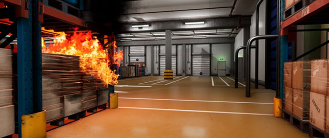 Wanadev propose deux nouveaux scénarios de formation virtuelle aux incendies