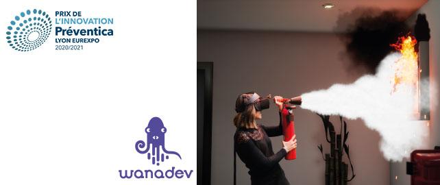 Simuler un incendie en réalité virtuelle pour mieux s'y préparer