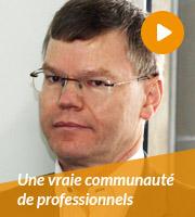 Une vraie communauté de professionnels