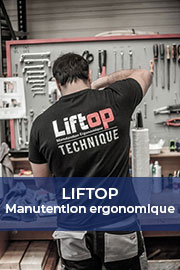 Liftop, expert des solutions ergonomiques de manutention