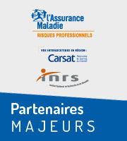 Assurance Maladie, Carsat, Inrs