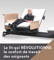 Le lit qui révolutionne le confort des soignants