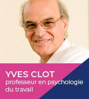 Présence de Yves Clot